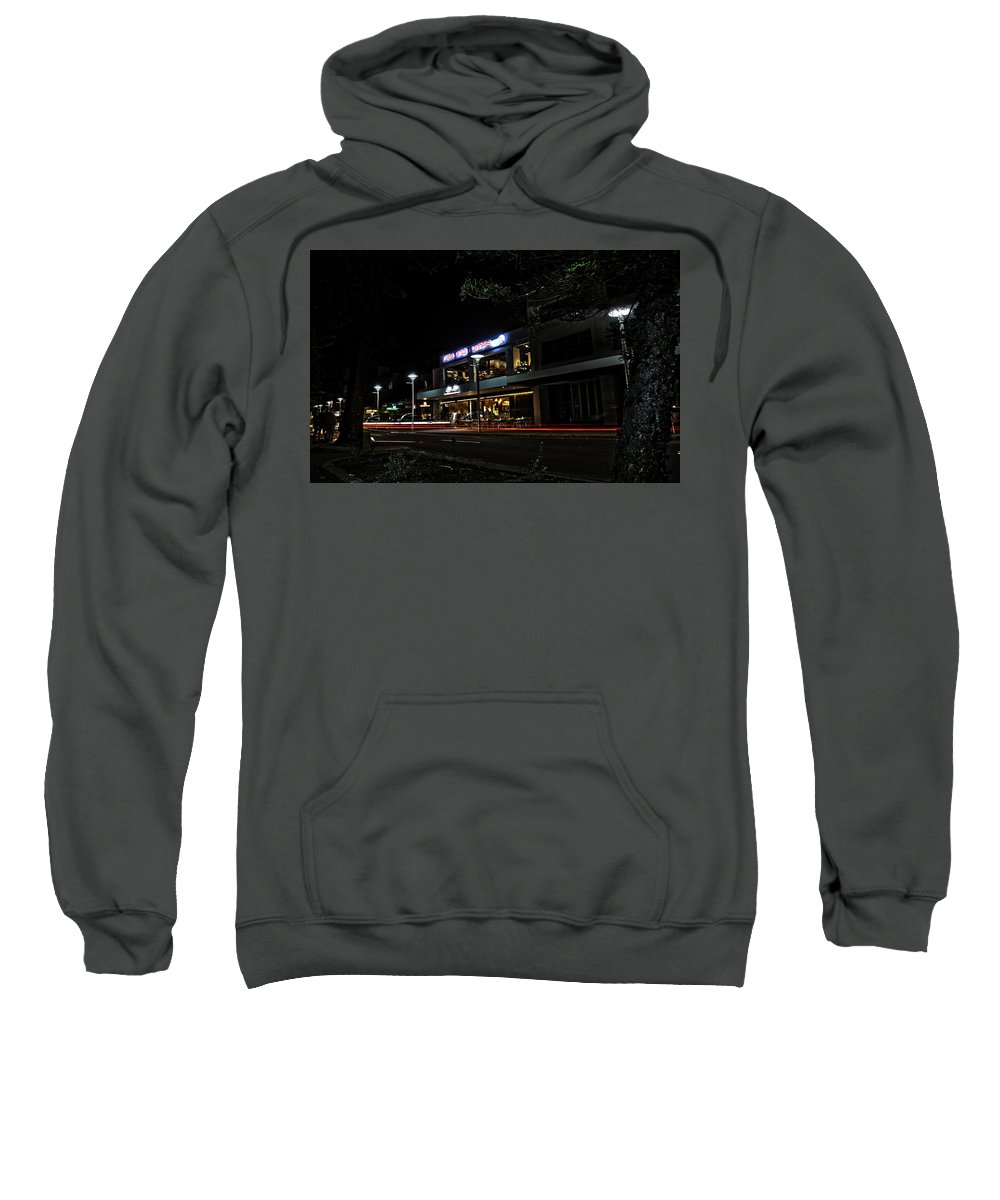 Ribs And Rumps Sweatshirt featuring the photograph Ribs And Rumps In Manly by Miroslava Jurcik