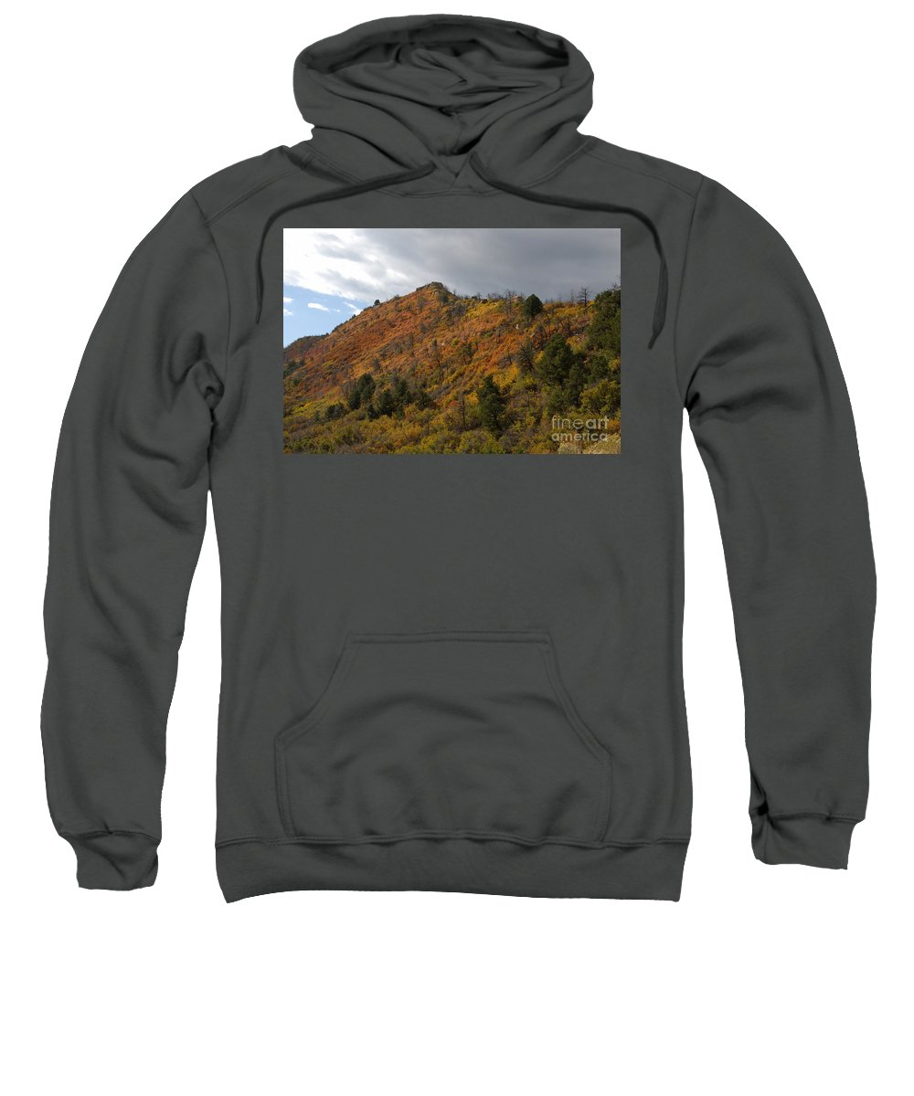 Landscape Sweatshirt featuring the photograph Ridge Line by David Lee Thompson