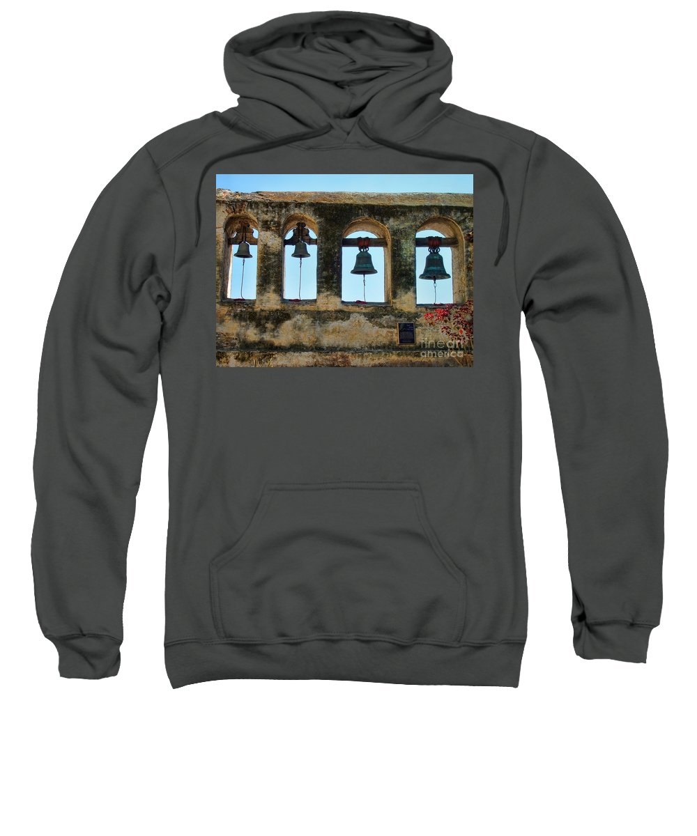 Ringing Bells Sweatshirt featuring the photograph Ringing Bells by Mariola Bitner