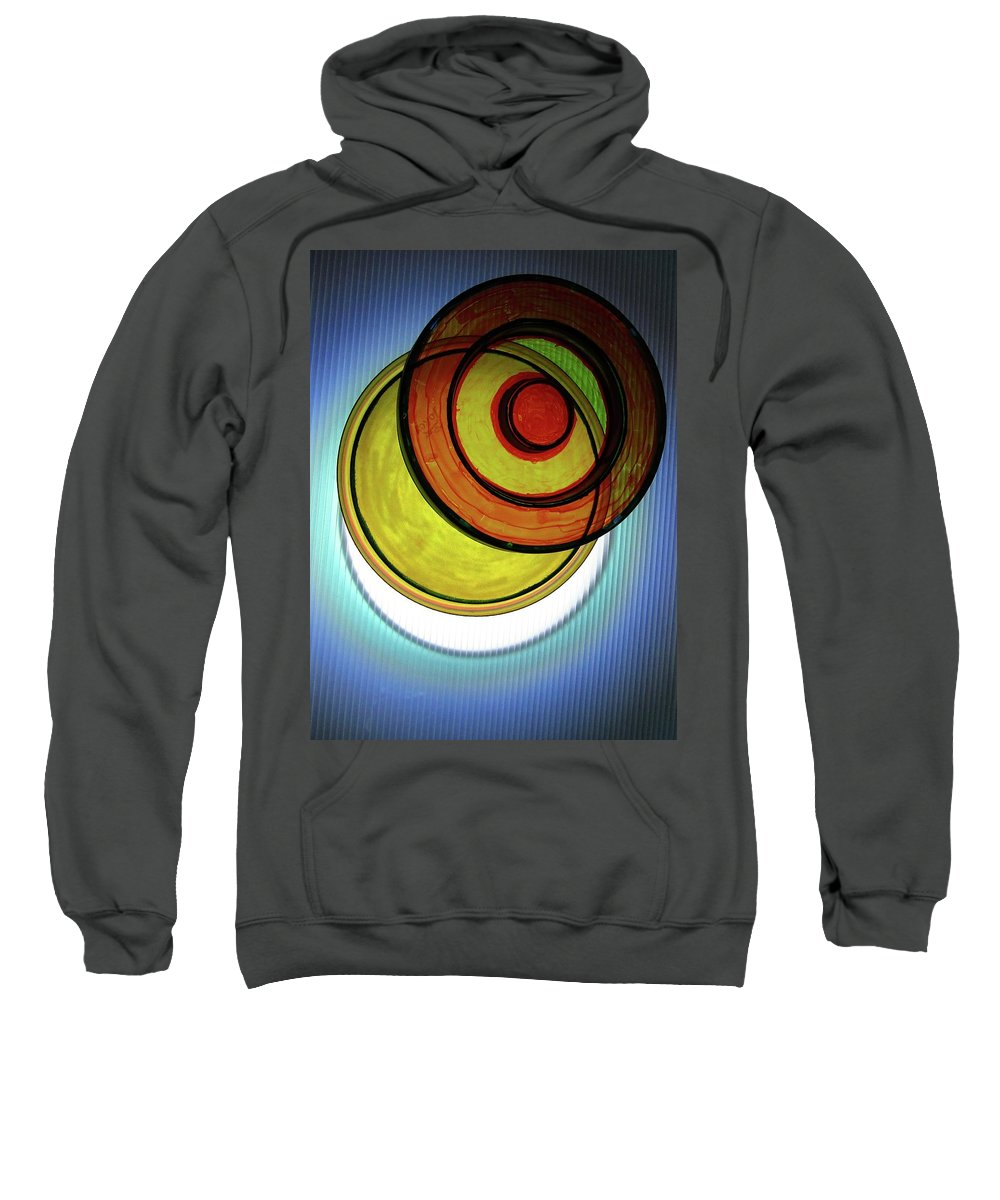 Abstract Sweatshirt featuring the photograph Eclipse-2 # 2 by Paolo Staccioli
