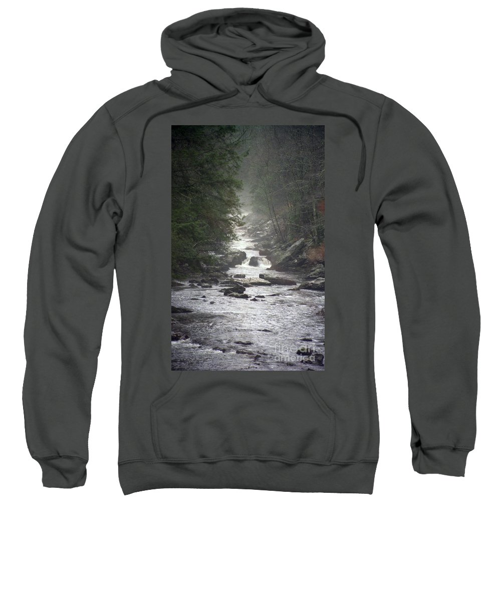 River Sweatshirt featuring the photograph River Run by Richard Rizzo