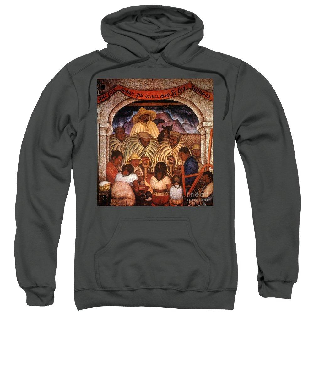 20th Century Sweatshirt featuring the photograph Rivera: Rain by Granger
