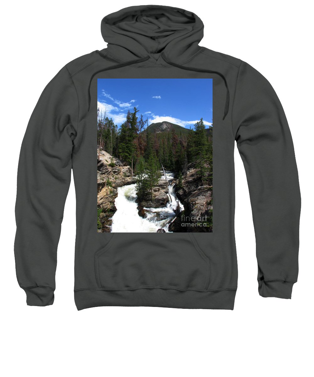 Colorado Sweatshirt featuring the photograph Roar by Amanda Barcon
