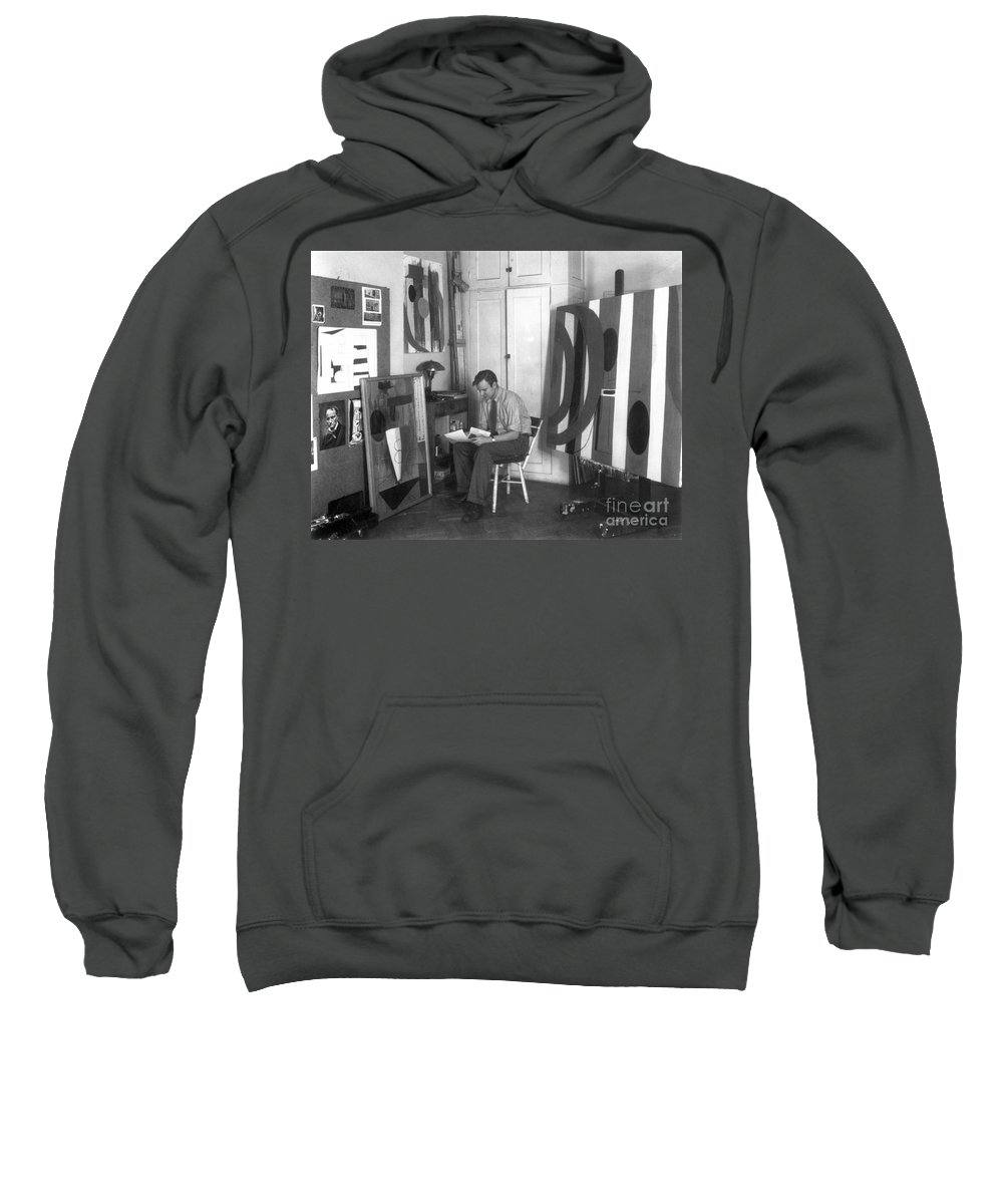 20th Century Sweatshirt featuring the photograph Robert Motherwell by Granger