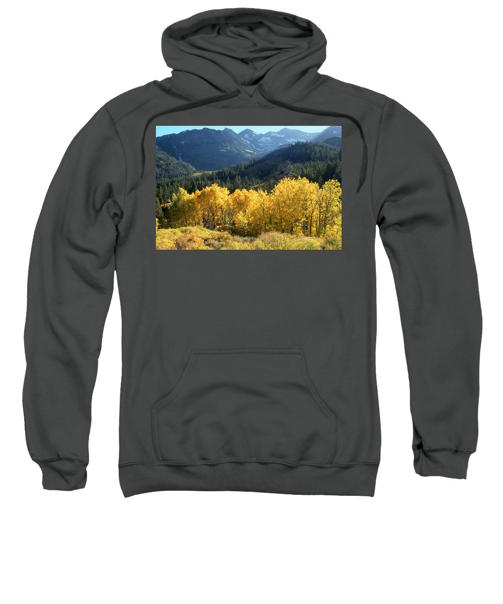 Landscape Sweatshirt featuring the photograph Rocky Mountain High Colorado - Landscape Photo Art by Peter Potter