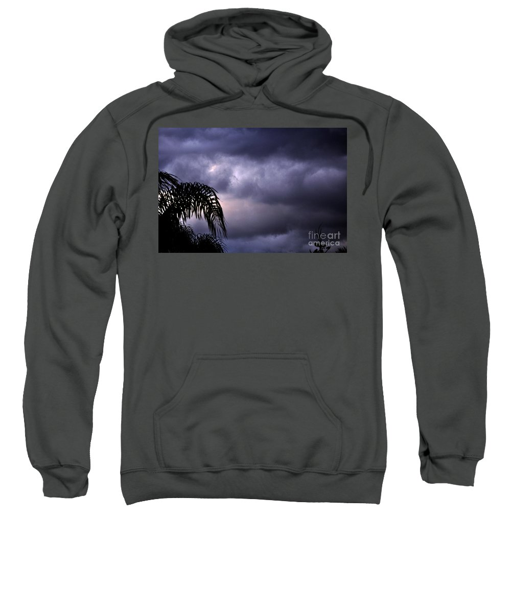 Clay Sweatshirt featuring the photograph Rolling In . . . by Clayton Bruster