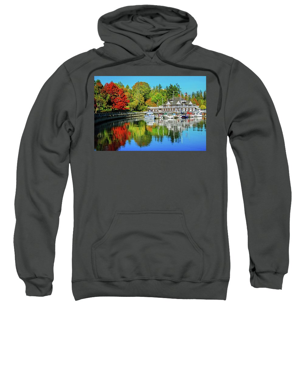 Fall Sweatshirt featuring the photograph Rowing Club Color by Lynn Bauer