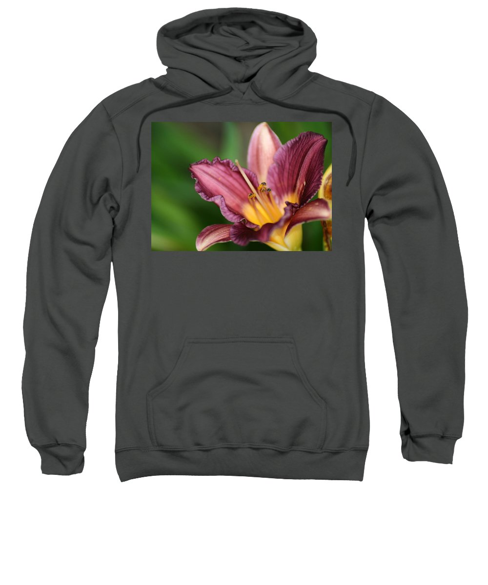 Floral Sweatshirt featuring the photograph Royalty by Marla McFall