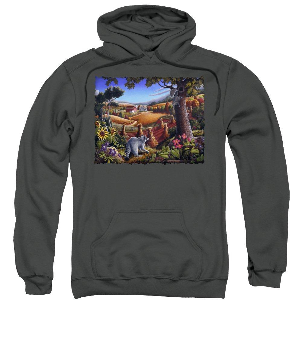 Farmland Hooded Sweatshirts T-Shirts