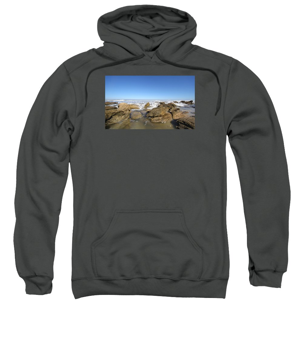 Ocean Sweatshirt featuring the photograph Rush by Robert Och