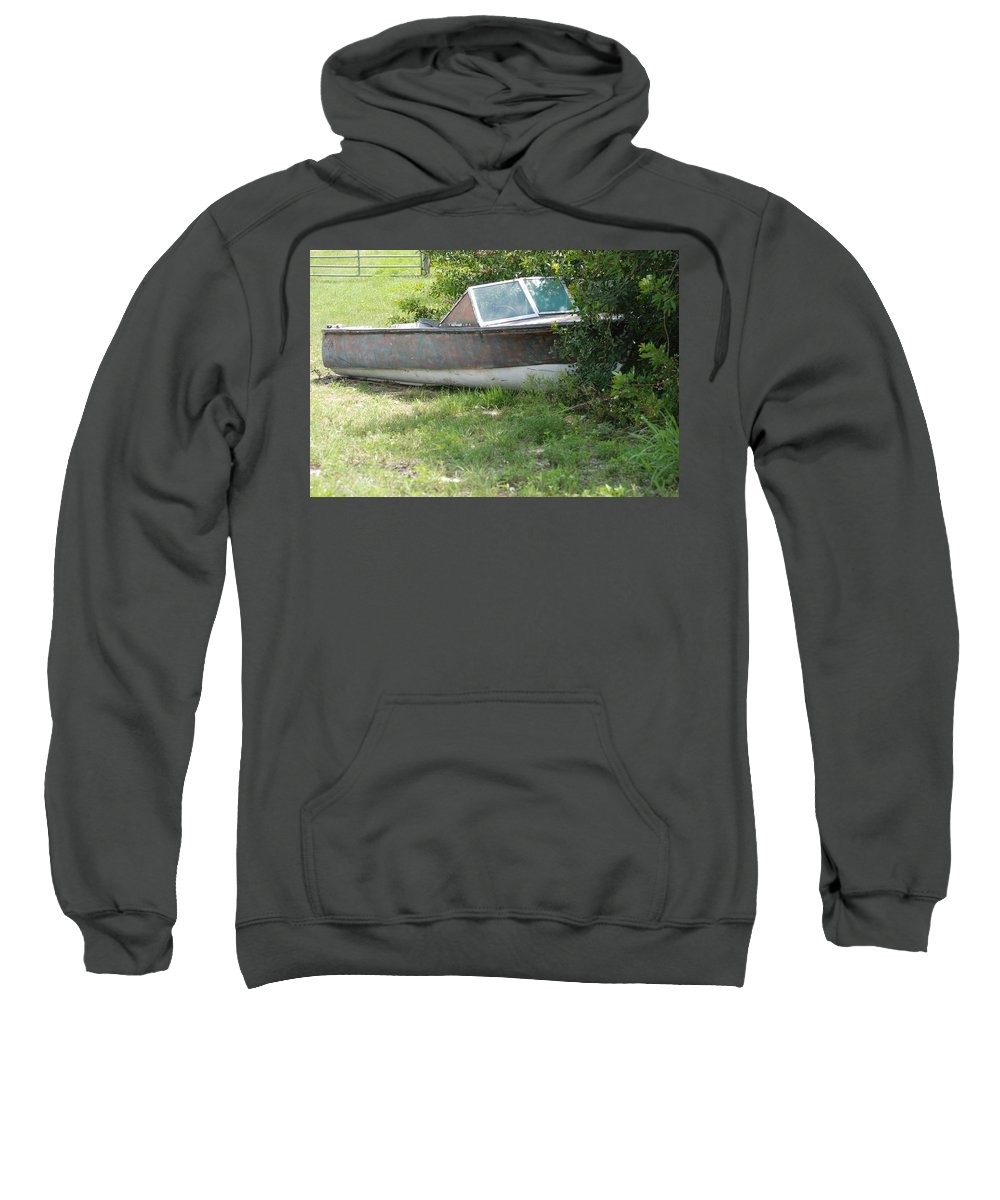 Boat Sweatshirt featuring the photograph S S Minnow by Rob Hans