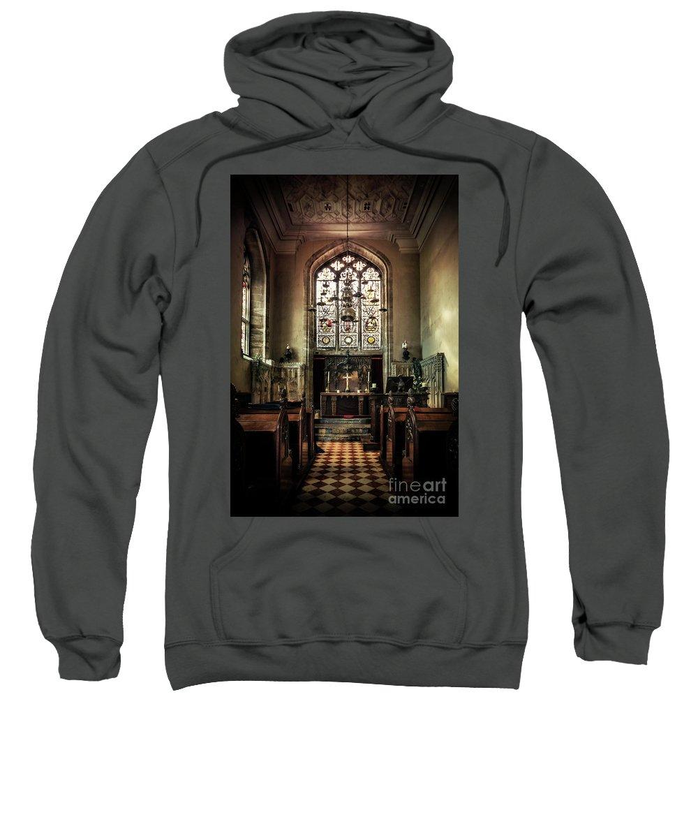 Kremsdorf Sweatshirt featuring the photograph Sacredness by Evelina Kremsdorf