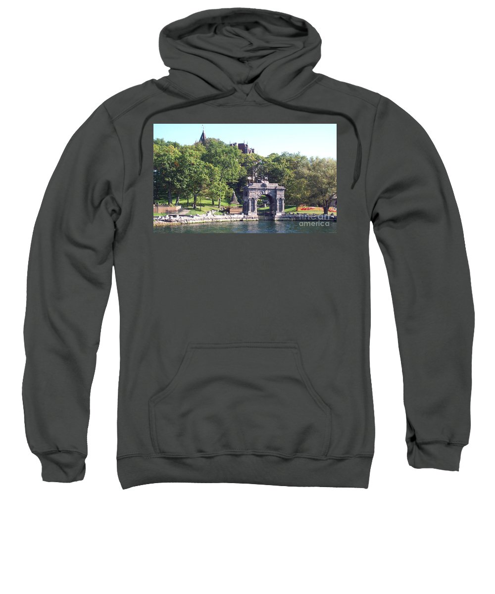 Thousand Islands Sweatshirt featuring the photograph Sailing The Thousand Islands Canada by Gina Sullivan