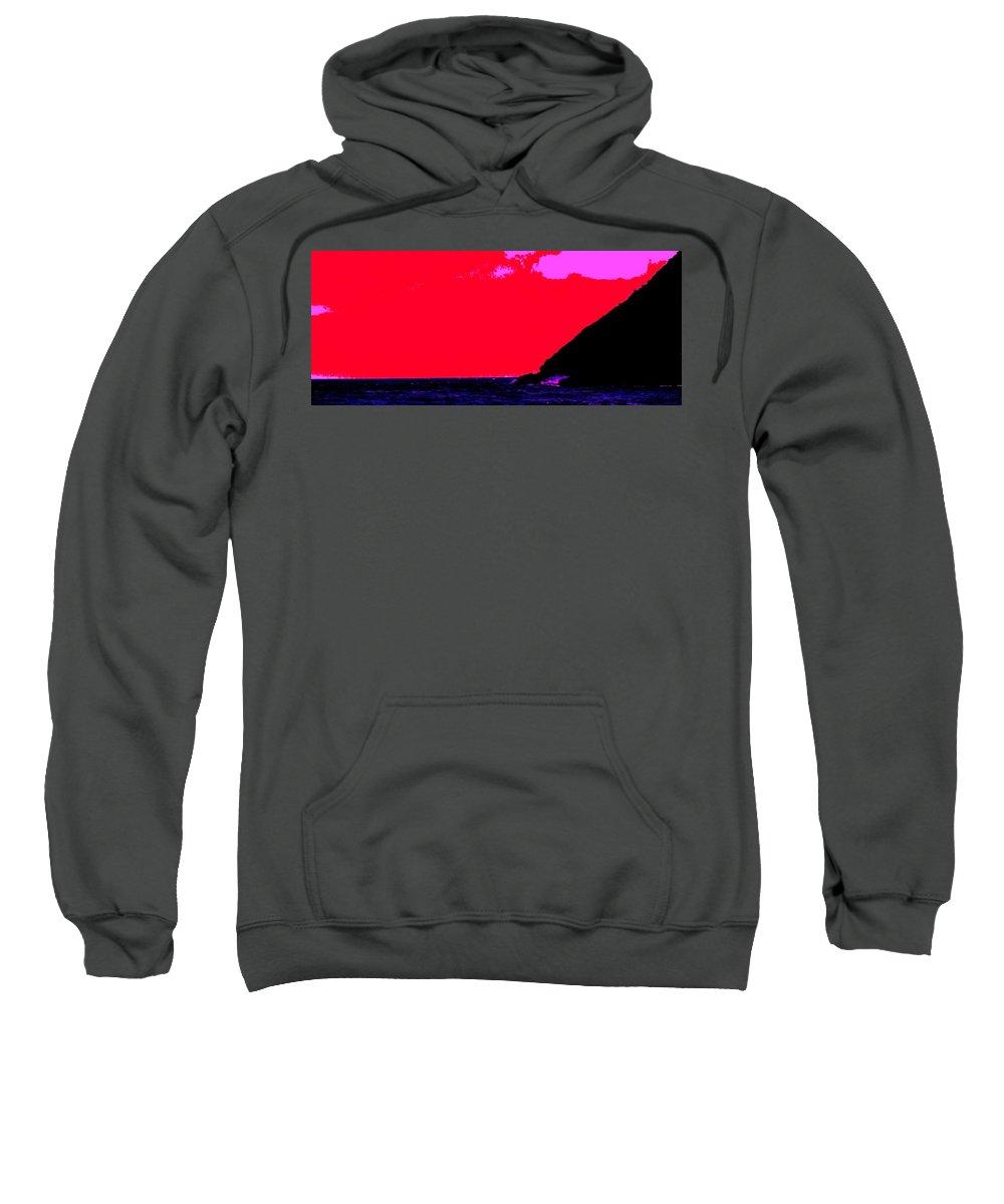 Morning Sweatshirt featuring the photograph Sailor Take Warning by Ian MacDonald