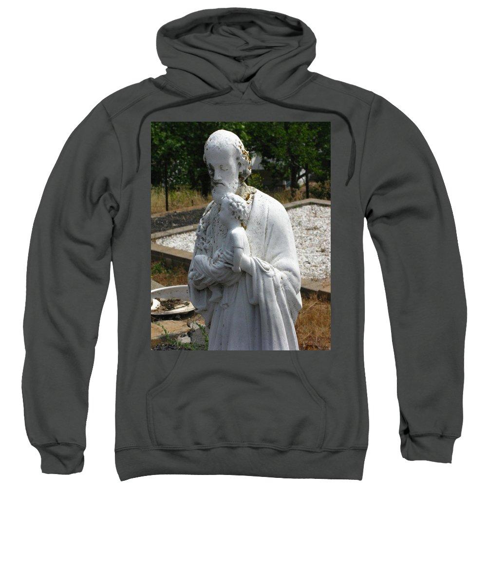 Saint Joseph Sweatshirt featuring the photograph Saint Joseph by Peter Piatt