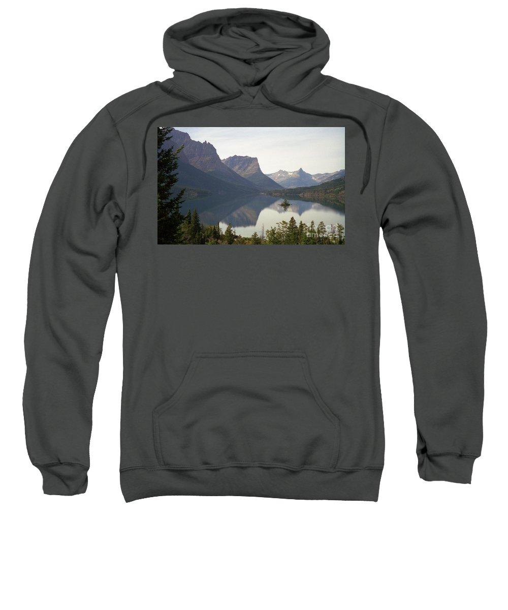 Lake Sweatshirt featuring the photograph Saint Marys Lake by Richard Rizzo