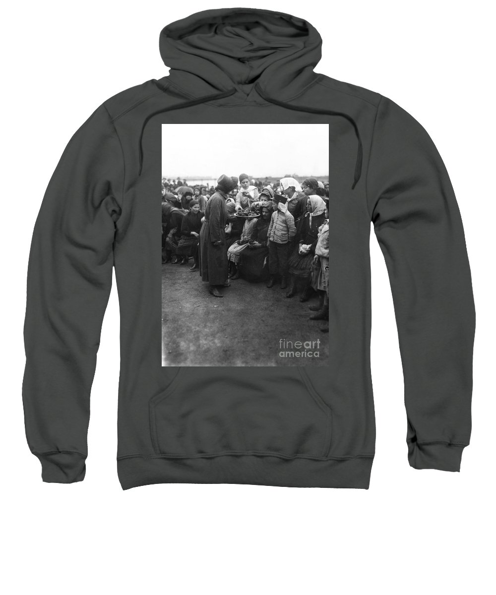 1920 Sweatshirt featuring the photograph Salvation Army, 1920 by Granger