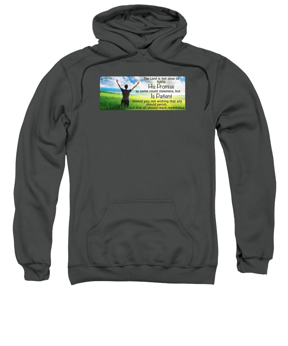 Sweatshirt featuring the photograph Salvation7 by David Norman