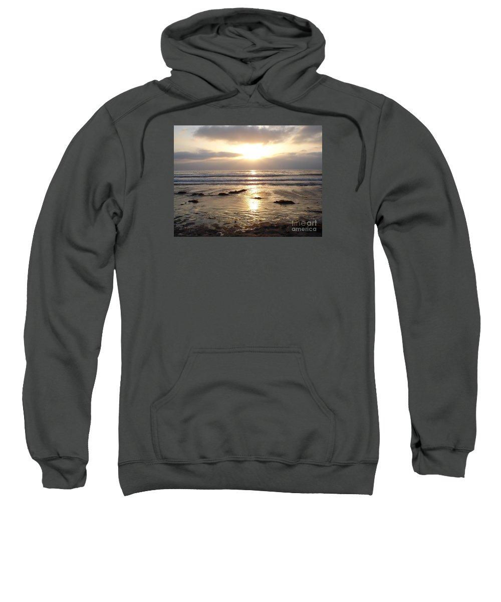 San Diego Sweatshirt featuring the photograph San Diego 4 by Madilyn Fox