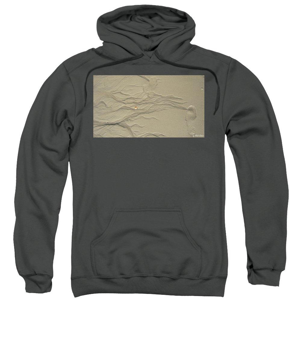 Sand Fire Sweatshirt featuring the photograph Sand Fire 2 by Heidi Sieber