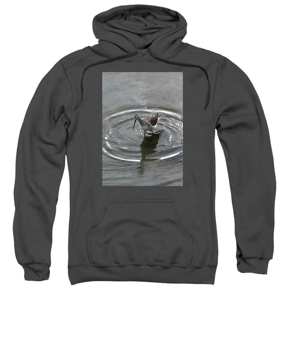 Sweatshirt featuring the photograph Sandpiper 02 by Robert Hayes