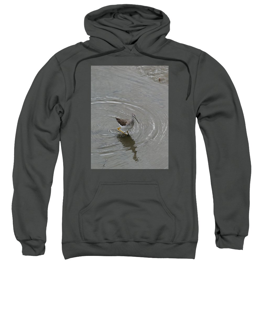 Sweatshirt featuring the photograph Sandpiper 03 by Robert Hayes