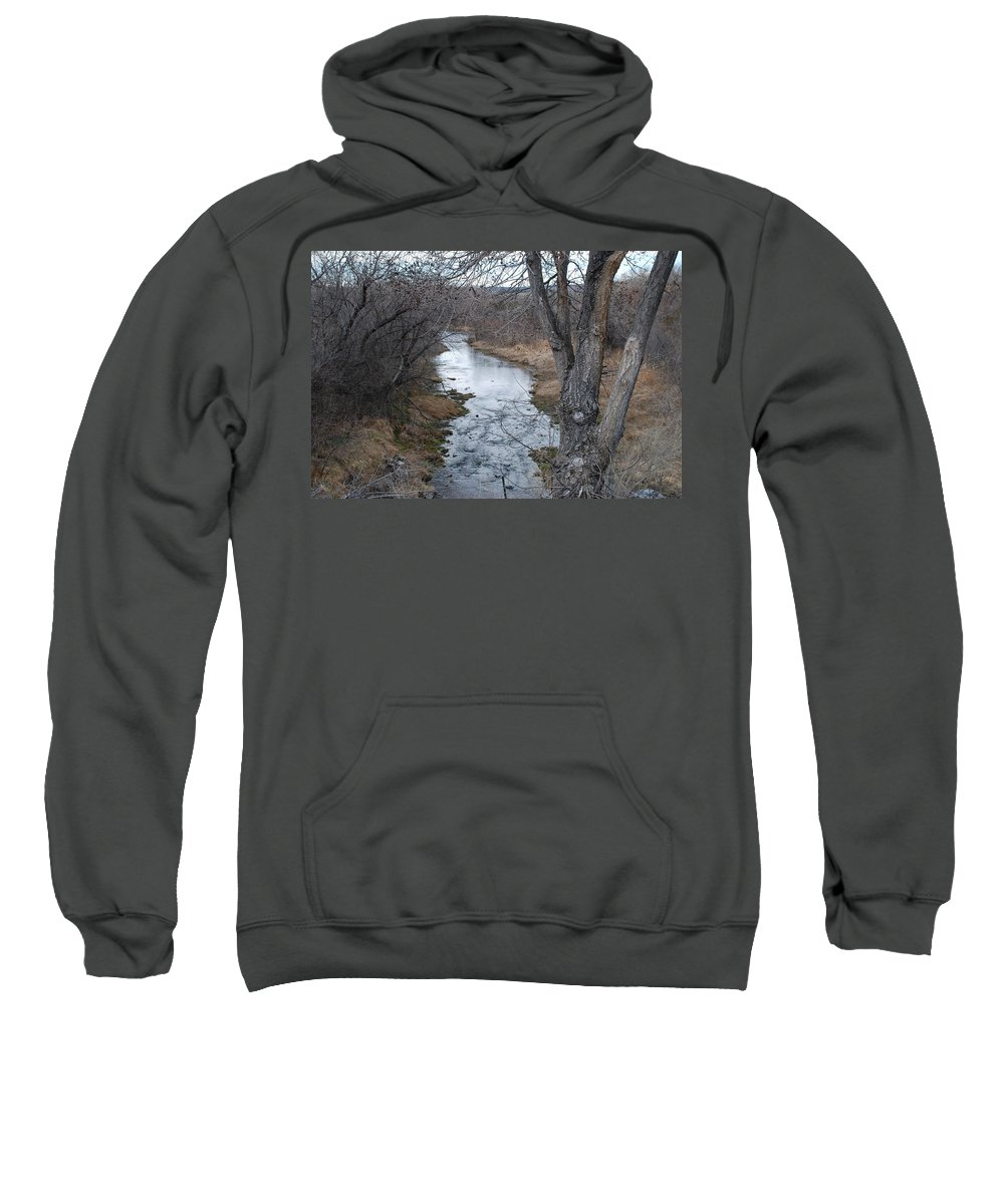 Santa Fe Sweatshirt featuring the photograph Santa Fe River by Rob Hans