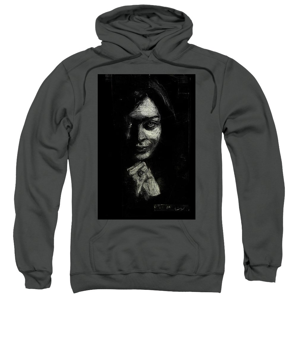 Sweatshirt featuring the photograph Sareh Bayat by Kamran Rouhani