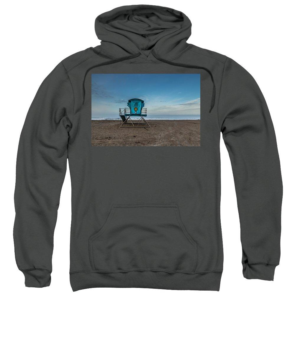 Califorina State Beach Sweatshirt featuring the photograph Save Me by Joe Azevedo