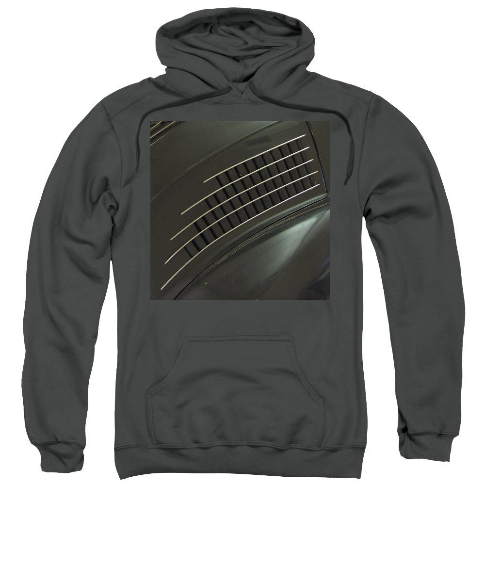 Stout Sweatshirt featuring the photograph Scarab Lines by Kelly Mezzapelle