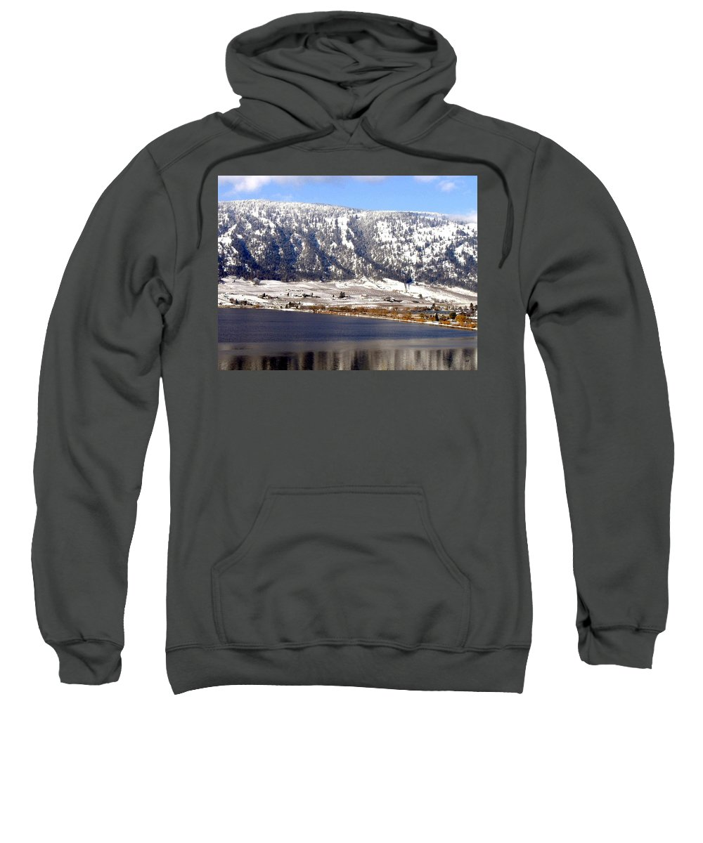 Oyama Sweatshirt featuring the photograph Scenic Oyama by Will Borden