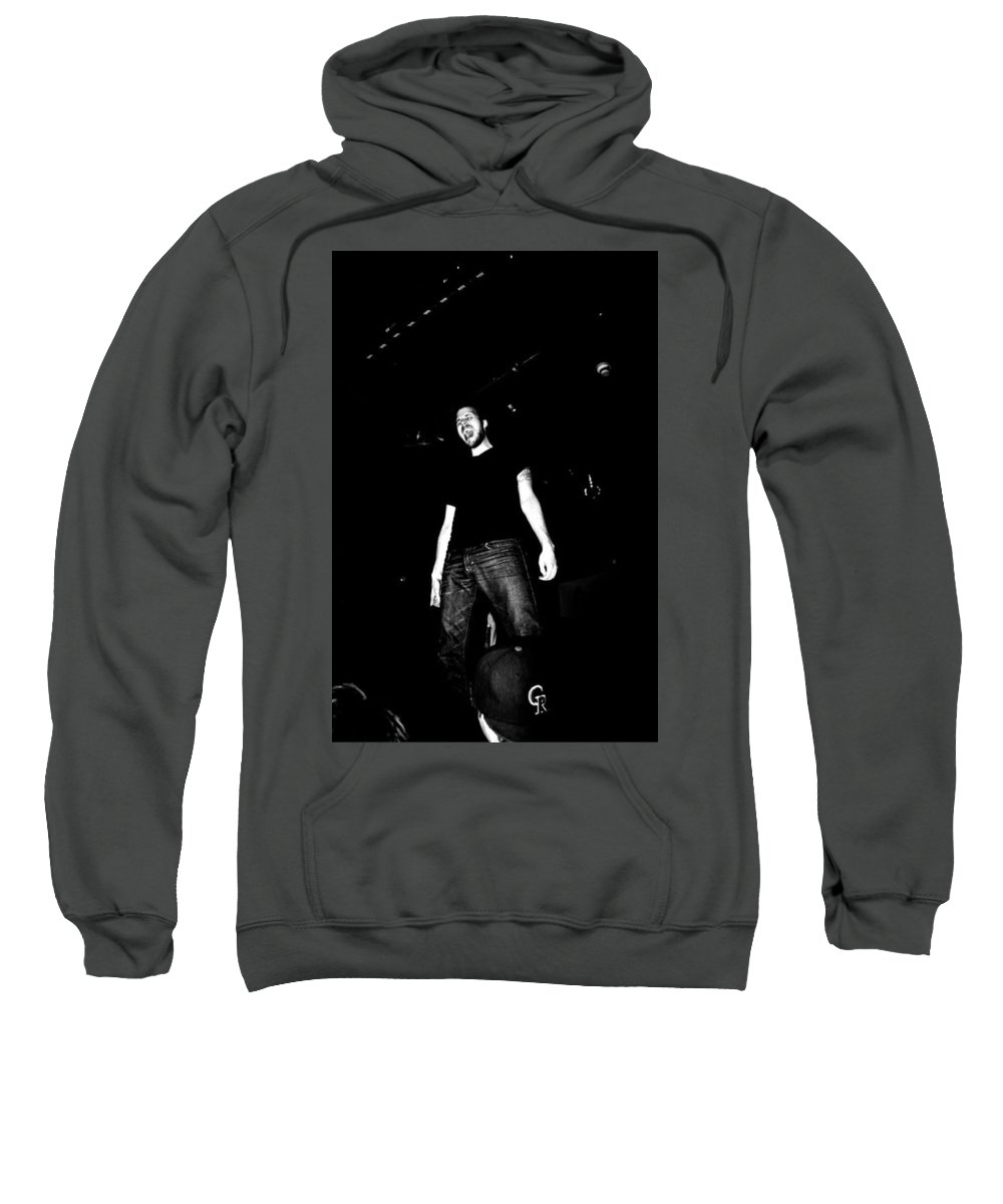 Band Sweatshirt featuring the photograph Screaming by Kendall Tabor