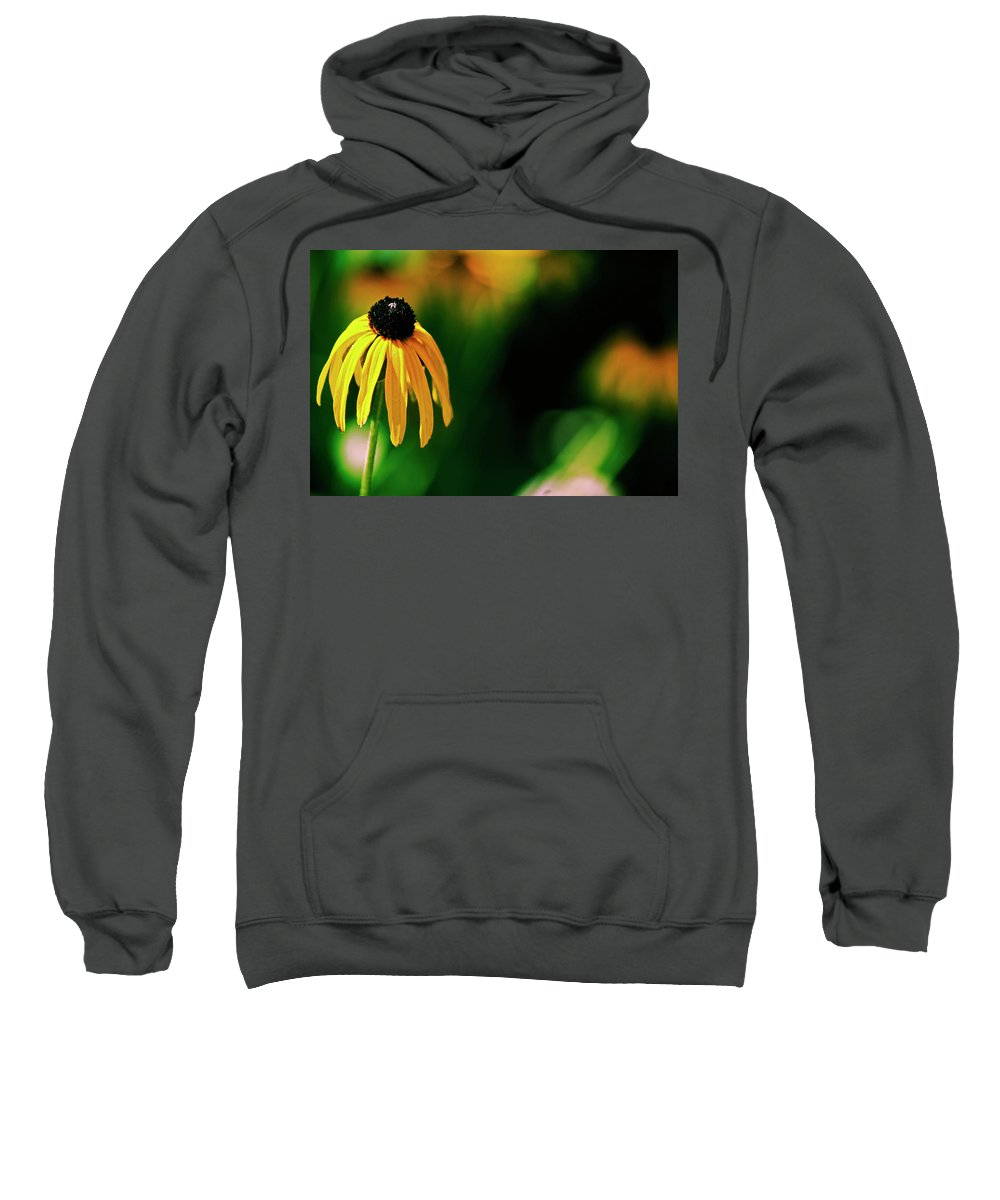 Macro Sweatshirt featuring the photograph Secluded by Absorb Productions