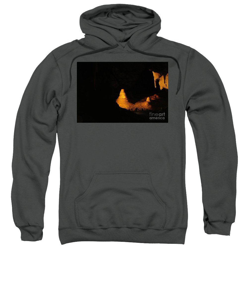 Cave Sweatshirt featuring the photograph Secret Cave by Oscar Moreno