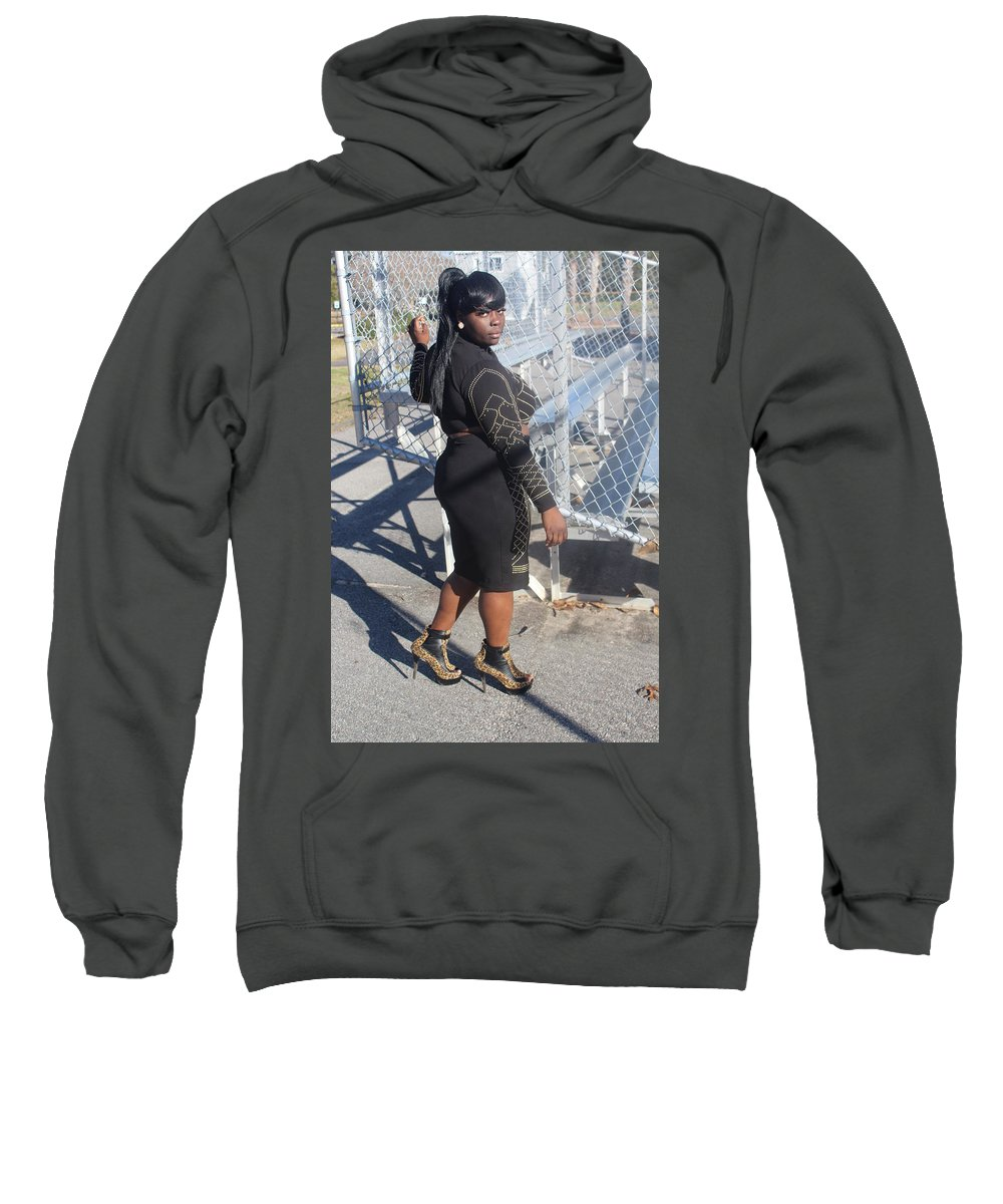 Kandi Sweatshirt featuring the photograph Sexy Friends by Christopher White