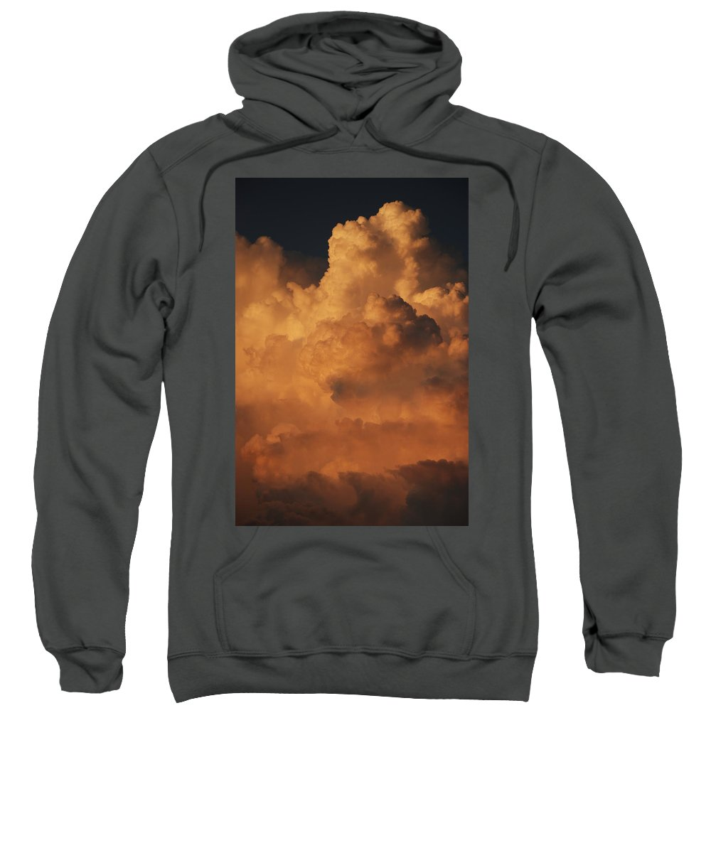 Clouds Sweatshirt featuring the photograph Shades Of Color by Rob Hans