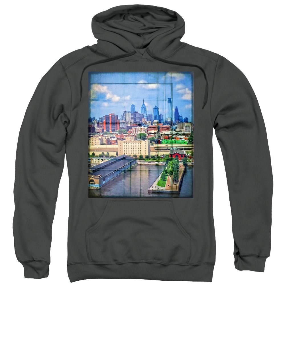 Alicegipsonphotographs Sweatshirt featuring the photograph Shades Of Philadelphia by Alice Gipson