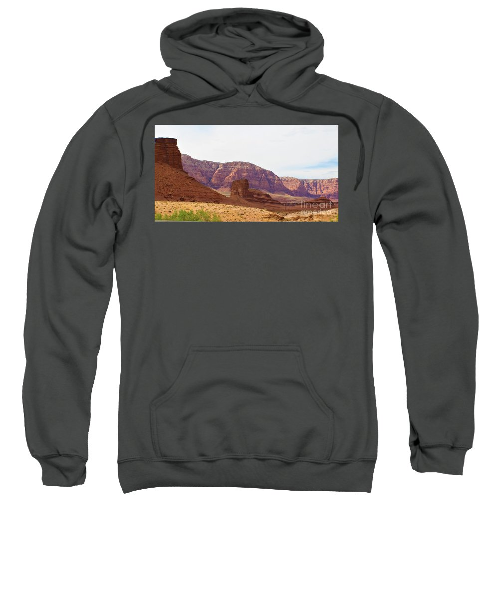 Sweatshirt featuring the photograph Shadow by Ashley Kiewatt