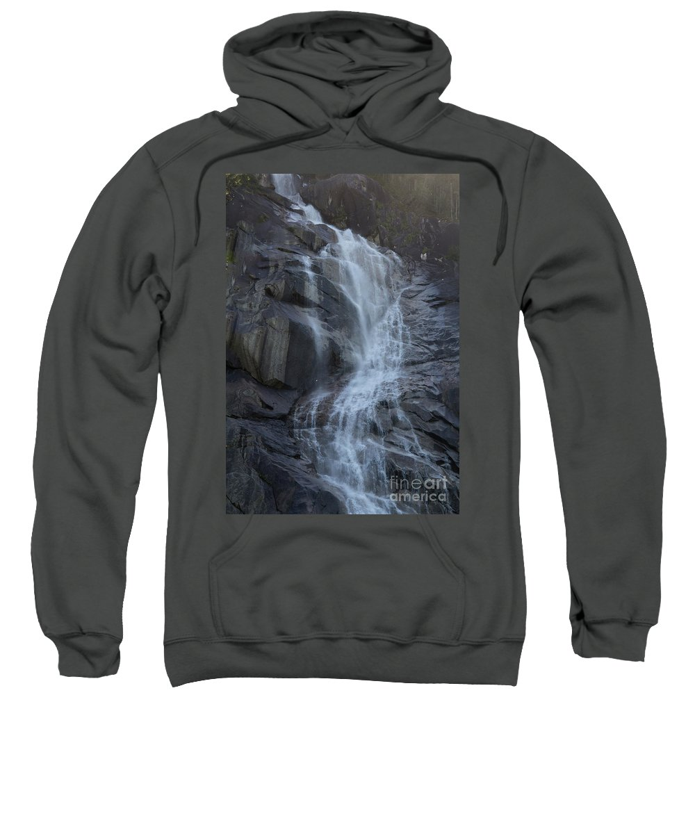 Water Falls Sweatshirt featuring the photograph Shannon Falls_mg_--2 by Roger Patterson