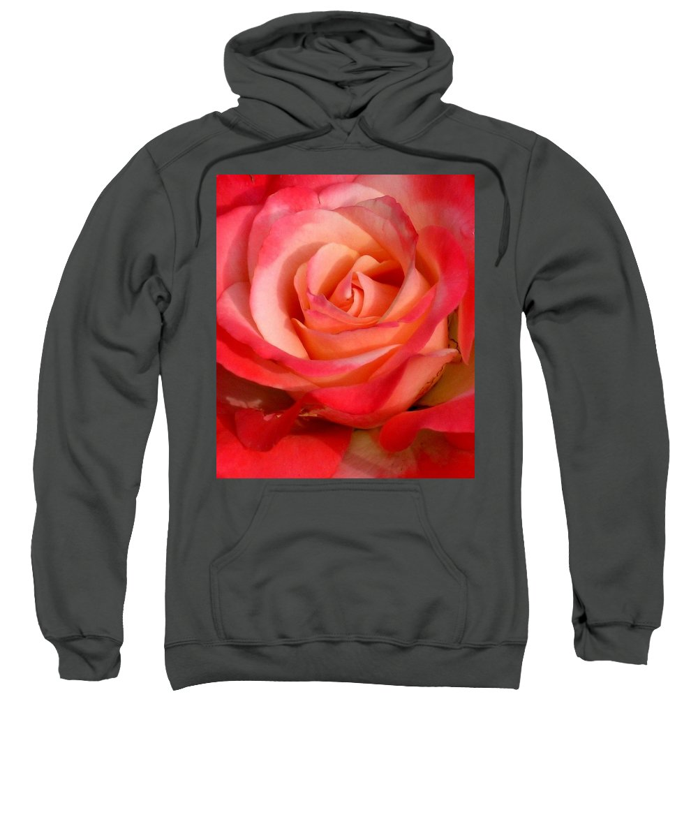 Rose Sweatshirt featuring the photograph Sheer Magic by Marla McFall