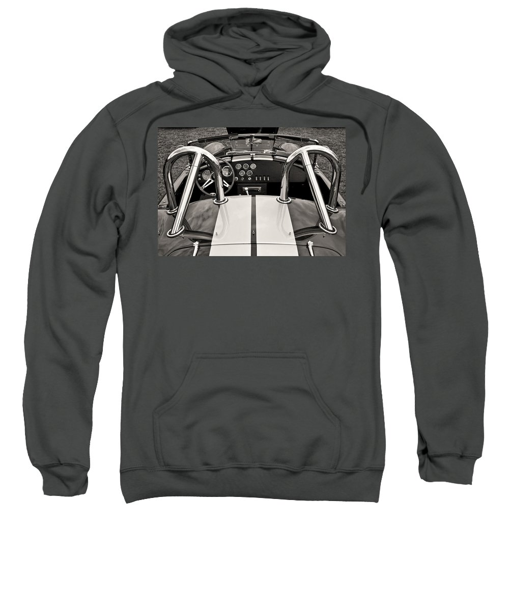 Automobile Sweatshirt featuring the photograph Shelby Cobra by Scott Wood