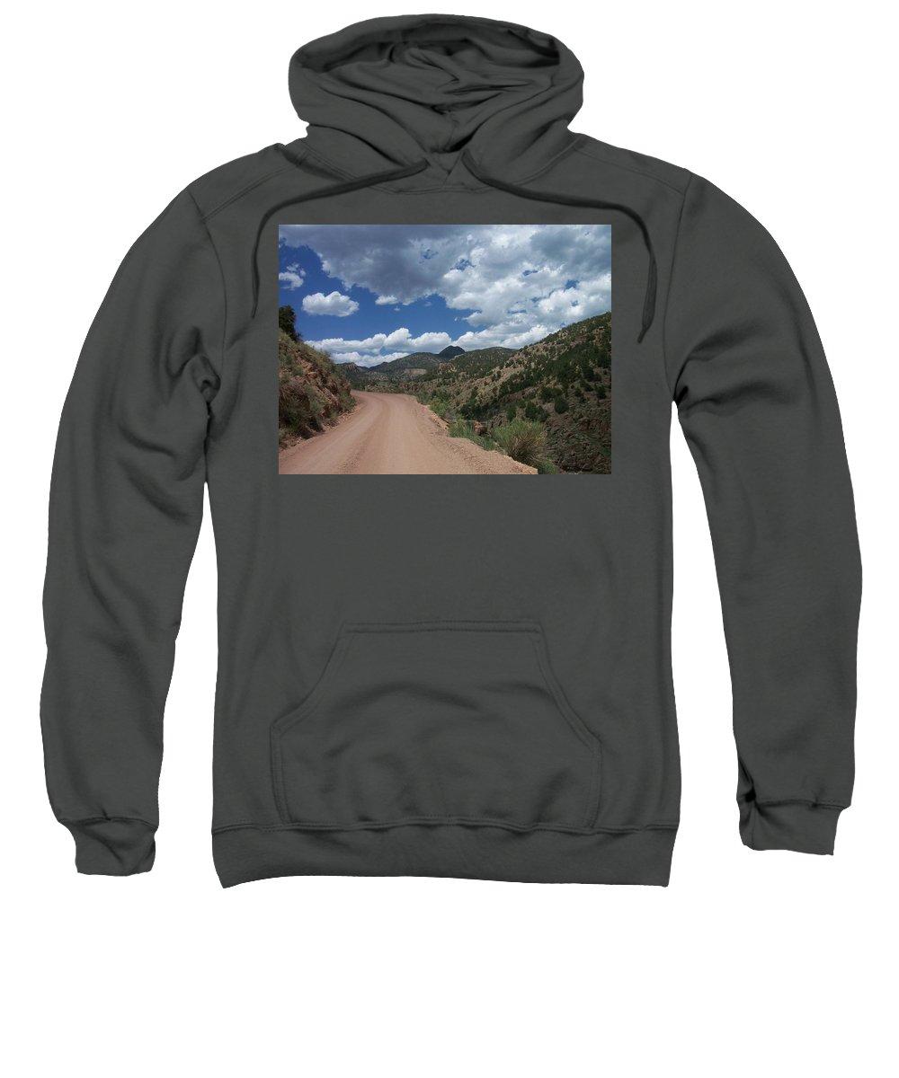 Shelf Road Sweatshirt featuring the photograph Shelf Road by Anita Burgermeister