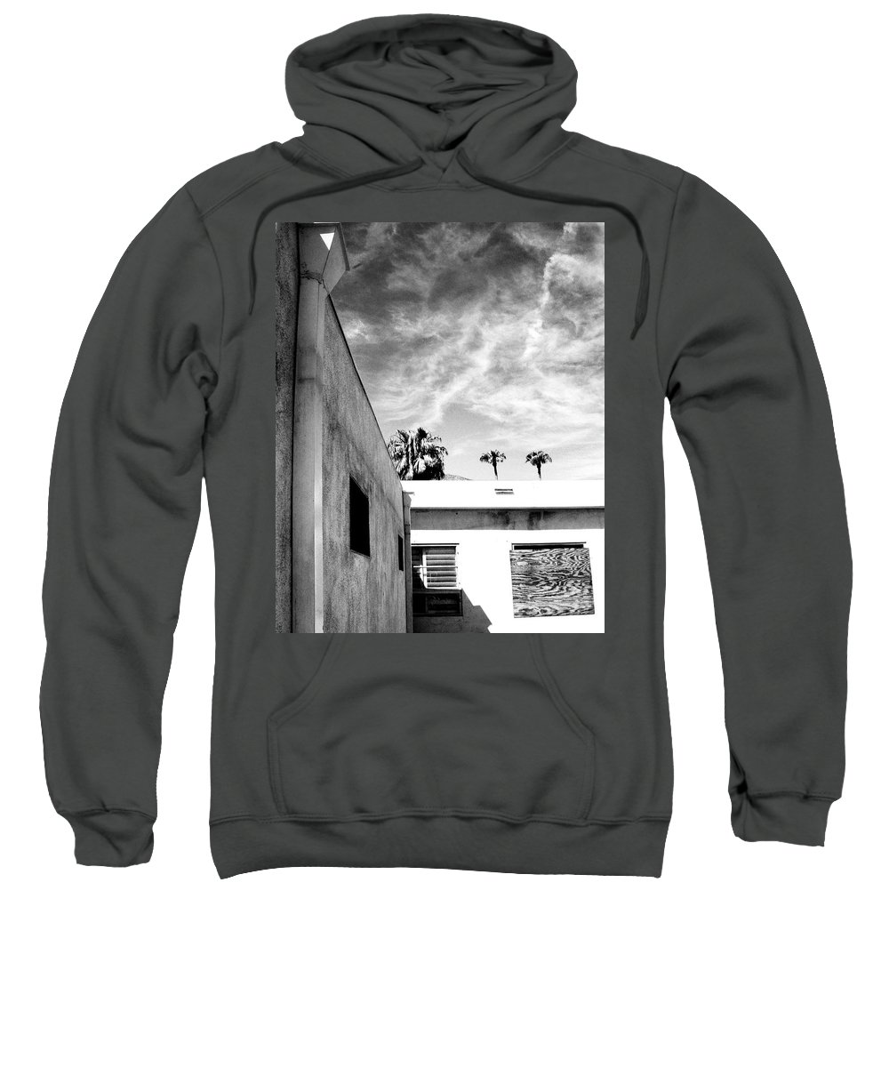 Palm Springs Sweatshirt featuring the photograph Shield by William Dey