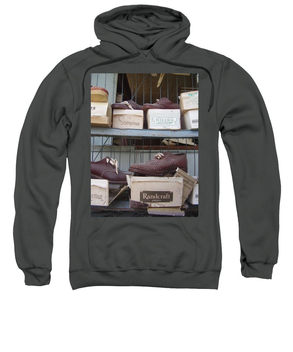 Shoes Sweatshirt featuring the photograph Shoes by Flavia Westerwelle