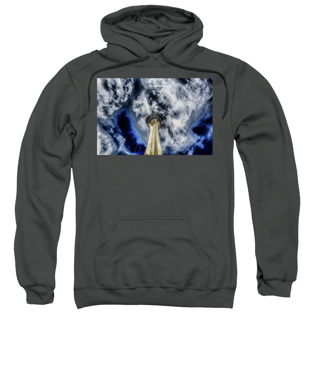 Sweatshirt featuring the photograph Shout by Michael Rogers