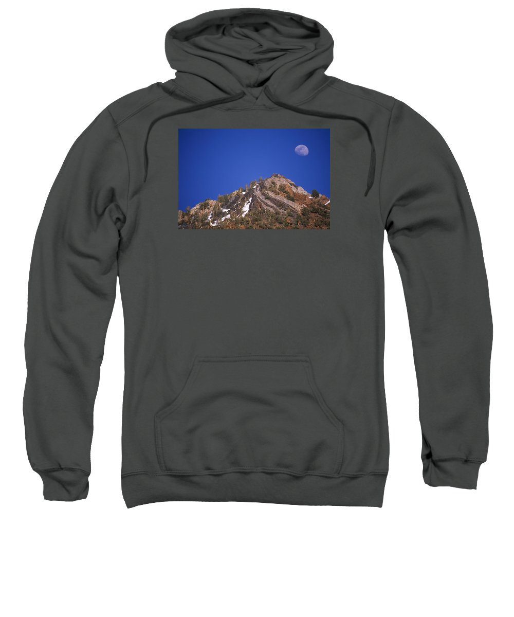 South Lake Sweatshirt featuring the photograph Sierra Sundae by Soli Deo Gloria Wilderness And Wildlife Photography