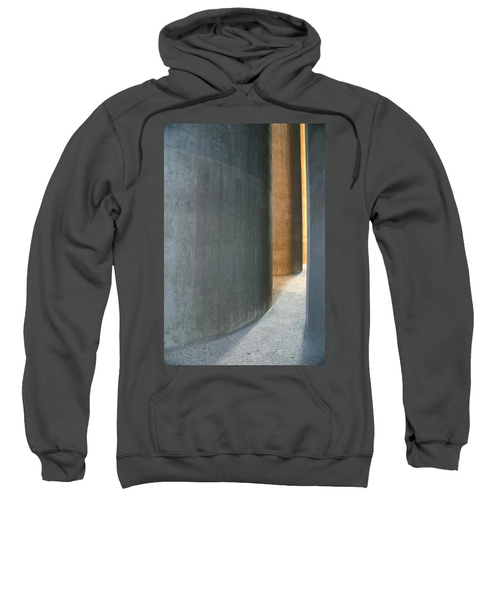 Silver Sweatshirt featuring the photograph Silver And Gold In Belgium by Minaz Jantz