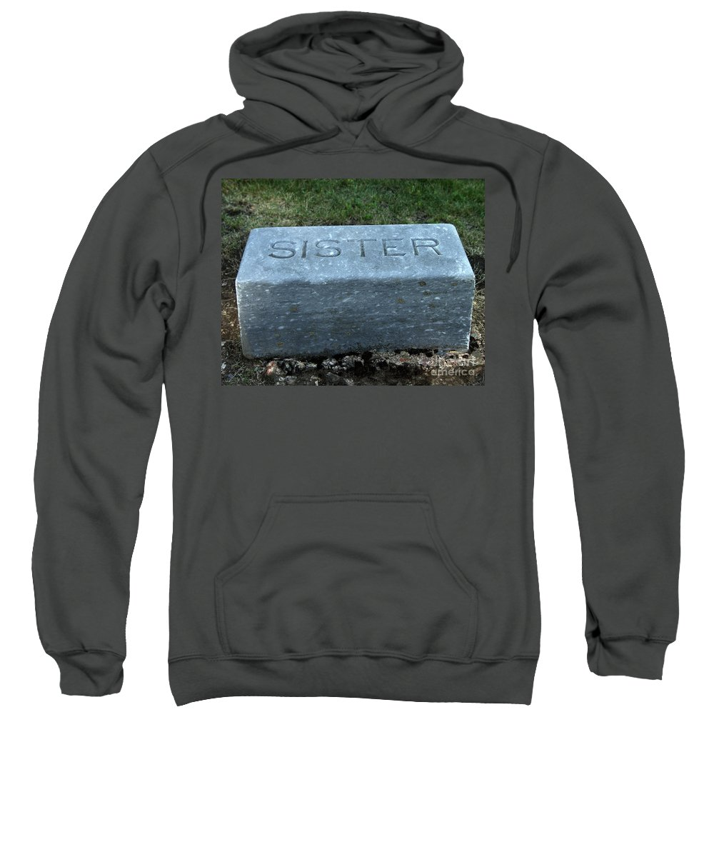 Sister Sweatshirt featuring the photograph Sister by Peter Piatt