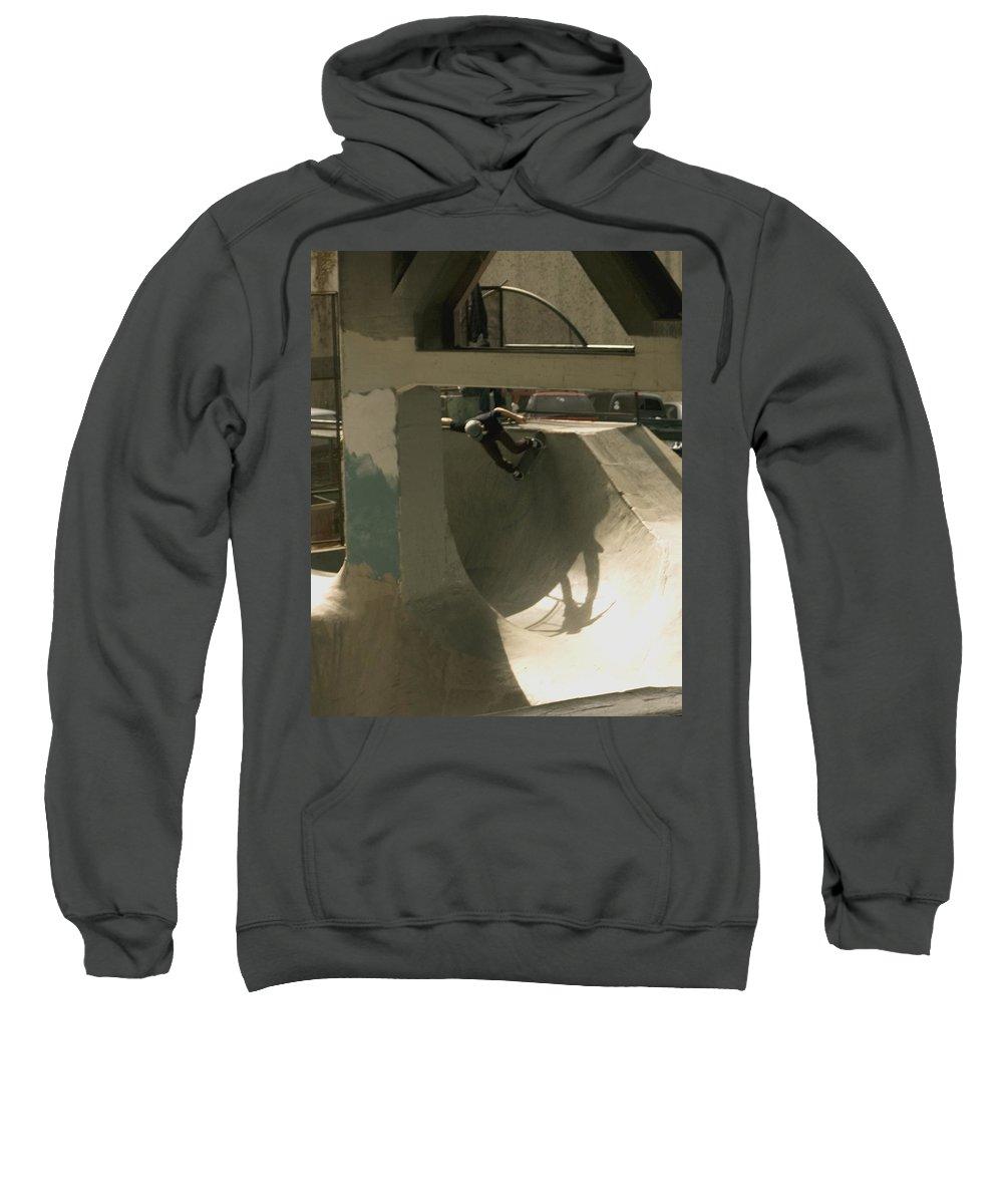 Skate Sweatshirt featuring the photograph Skate by Sara Stevenson