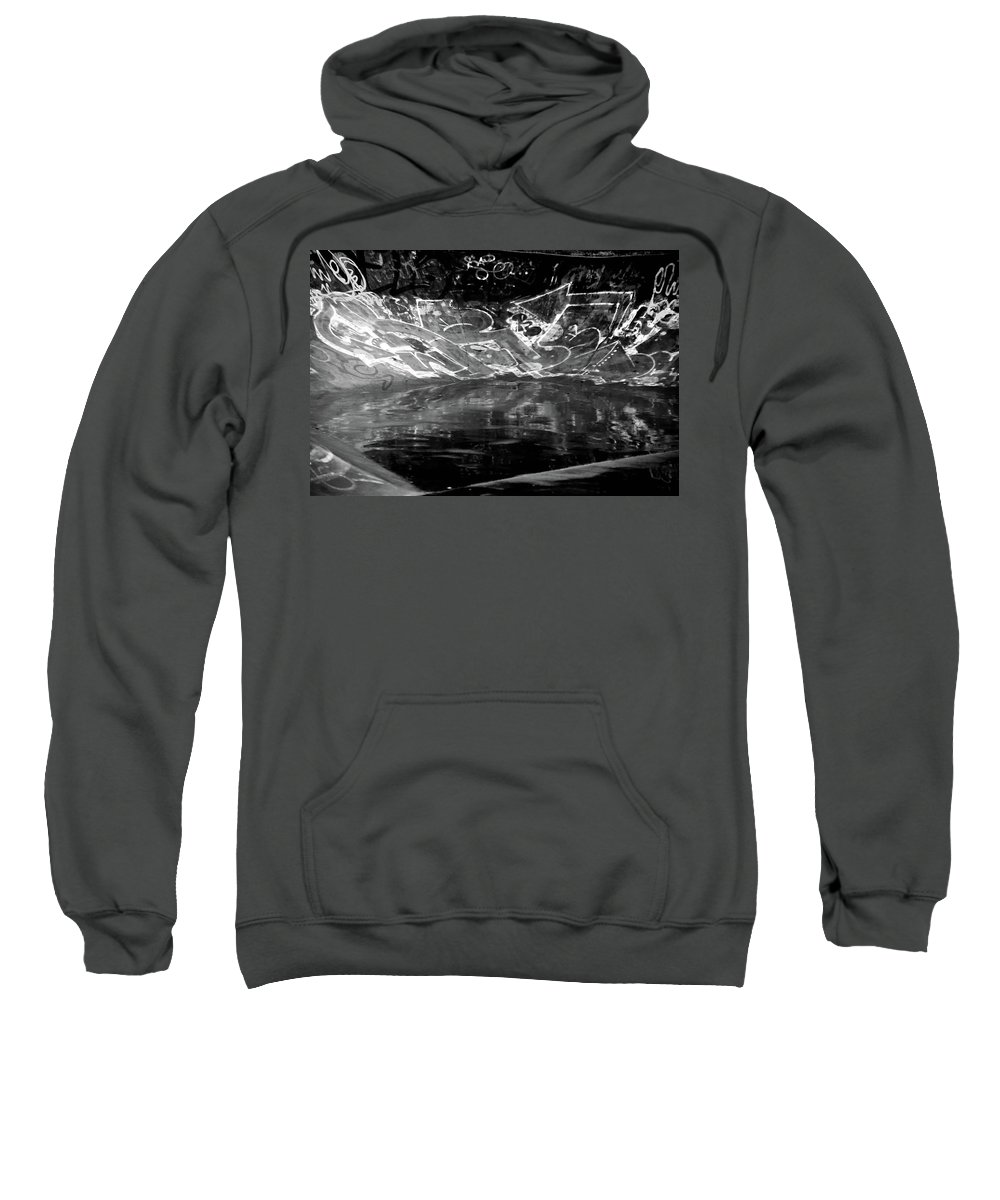 Hebden Sweatshirt featuring the photograph Skating by Jez C Self